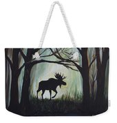 Majestic Bull Moose Weekender Tote Bag