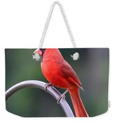 Majestic Cardinal Weekender Tote Bag