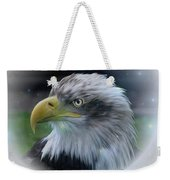 Majestic Eagle Of The Usa - Featured In Feathers And Beaks-comfortable Art And Nature Groups Weekender Tote Bag