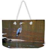 Majestic Heron Weekender Tote Bag