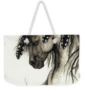 Majestic Mustang Horse Series #51 Weekender Tote Bag by AmyLyn Bihrle