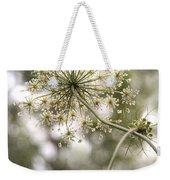Majestic Queen -  Queen Anne's Lace Daucus Carota Weekender Tote Bag