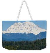 Majestic Rainier Weekender Tote Bag