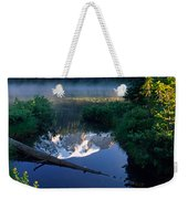 Majestic Reflection Weekender Tote Bag by Inge Johnsson