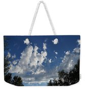 Majestic Sky - Building Cumulus Weekender Tote Bag