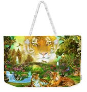 Majestic Tiger Grotto Weekender Tote Bag