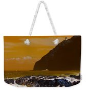 Makapuu Point Lighthouse- Oahu Hawaii V4 Weekender Tote Bag