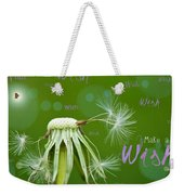 Make A Wish Card Weekender Tote Bag