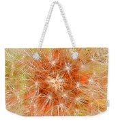 Make A Wish In Orange Weekender Tote Bag