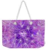 Make A Wish In Purple Weekender Tote Bag