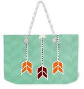Make It Happen Weekender Tote Bag by Linda Woods