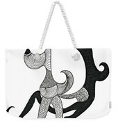 Make Love Not War Weekender Tote Bag