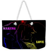 Making Love Weekender Tote Bag