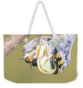Malachite Butterfly Emerging 4 Of 6 Weekender Tote Bag
