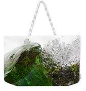 Malachite Water Weekender Tote Bag