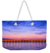 Malaga Pink And Blue Sunrise  Weekender Tote Bag