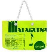 Malaguena Weekender Tote Bag