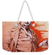 Malawi Child Sketch Weekender Tote Bag