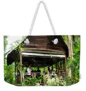 Malay Hut Weekender Tote Bag