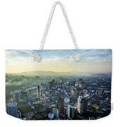Malaysia Aerial Weekender Tote Bag