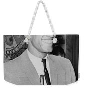 Malcolm X Weekender Tote Bag by Ed Ford