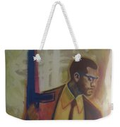 Necessary Means Of Malcolm X Weekender Tote Bag