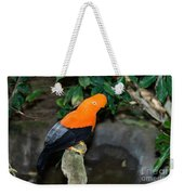 Male Andean Cock-of-the-rock Weekender Tote Bag