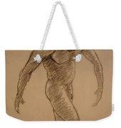 Male Croquis Weekender Tote Bag