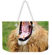 Lion Roar Weekender Tote Bag