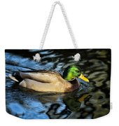 Male Mallard Weekender Tote Bag