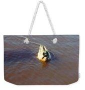 Male Mallard Duck Weekender Tote Bag