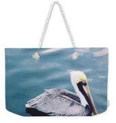 Male Pelican Weekender Tote Bag