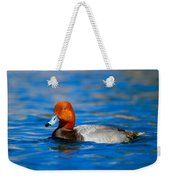 Male Red Head Duck Weekender Tote Bag