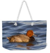 Male Redhead Duck Weekender Tote Bag