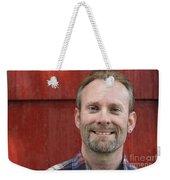 Male Smiling Weekender Tote Bag