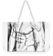 Male Torso #1 Weekender Tote Bag
