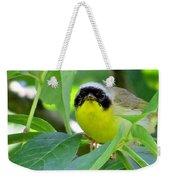 Male Warbler Weekender Tote Bag