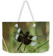 Male Widow Skimmer Dragonfly Weekender Tote Bag