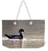 Male Wood Duck - Sucarnoochee  River Weekender Tote Bag