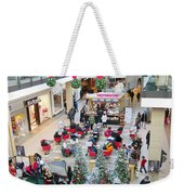 Mall Before Christmas Weekender Tote Bag