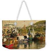 Mallaig Harbourside  Weekender Tote Bag