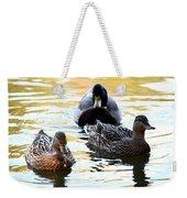 Mallard And Friends 2013 Weekender Tote Bag
