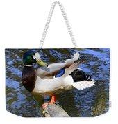 Mallard Drake Weekender Tote Bag