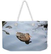 Mallard Duck Smile Weekender Tote Bag