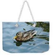 Solitaire Mallard Duck Weekender Tote Bag