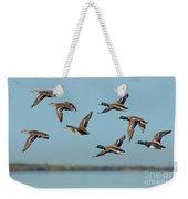 Mallard Flock Flying Weekender Tote Bag
