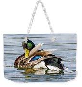 Mallard Grooming Weekender Tote Bag