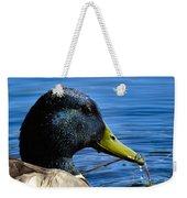 Mallard Macro Weekender Tote Bag