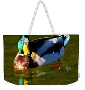 Mallard Male Duck Weekender Tote Bag