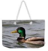 Mallard On The Lake Weekender Tote Bag